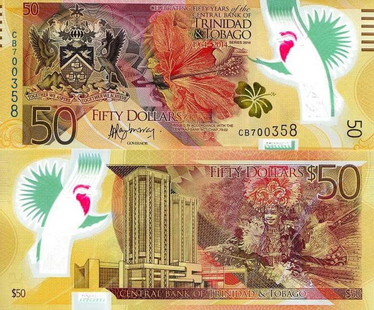 50 Dollar  UNC Banknote