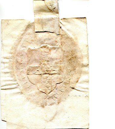 Wax Seal  Not Graded (see scan) Banknote