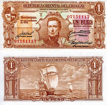 1 Pesos  aUNC/XF (see scan) Banknote