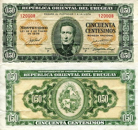 50 Cents  VF (See large scan) Banknote