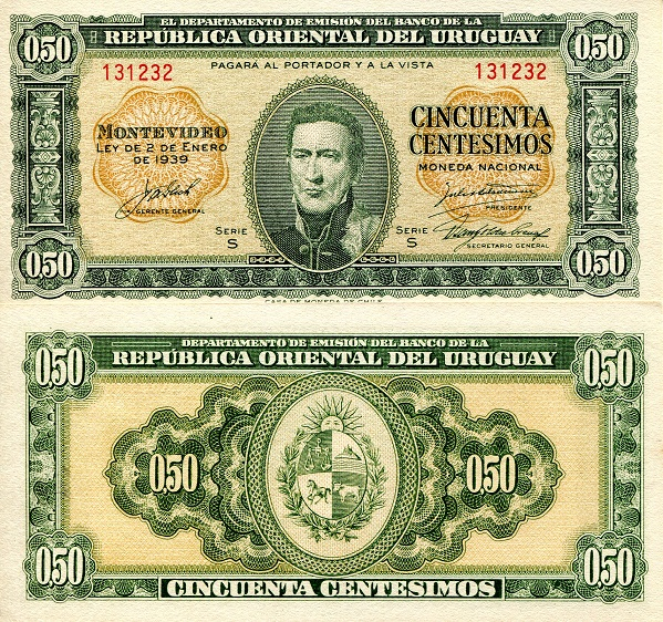 50 Cents  XF (See large scan) Banknote