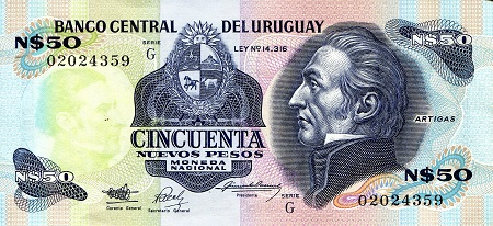 50 Pesos  aUNC/XF (see scan) Banknote