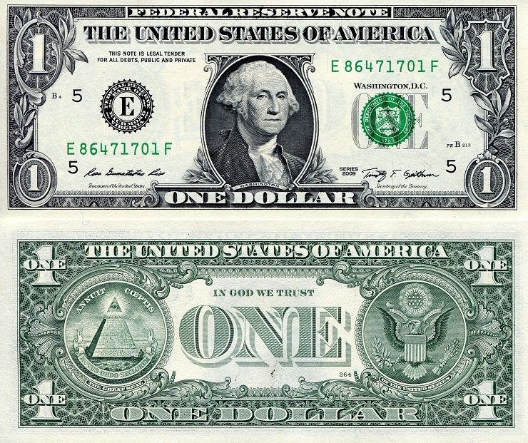 10 times $1 (10 Notes) aUNC