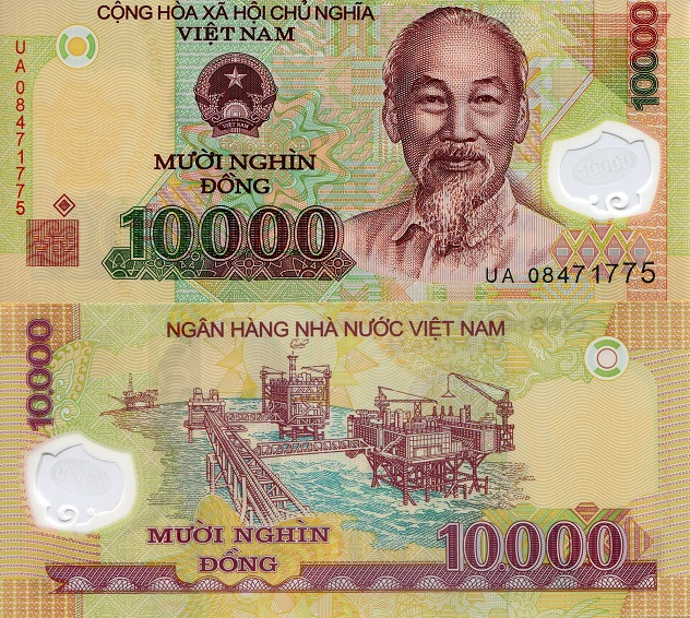 10000 Dong  UNC Banknote