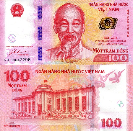 100 Dong  UNC Banknote