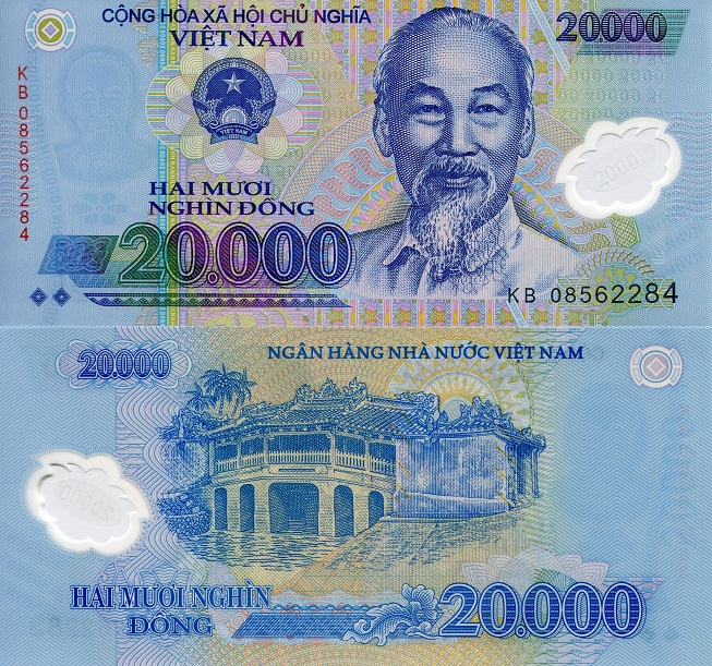 20000 Dong  UNC Banknote