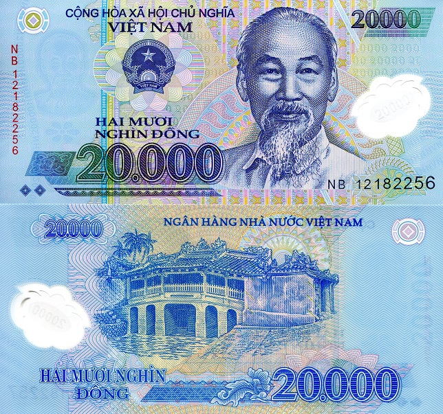 20,000 Dong  UNC Banknote