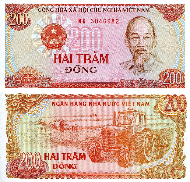 200 Dong  UNC Banknote