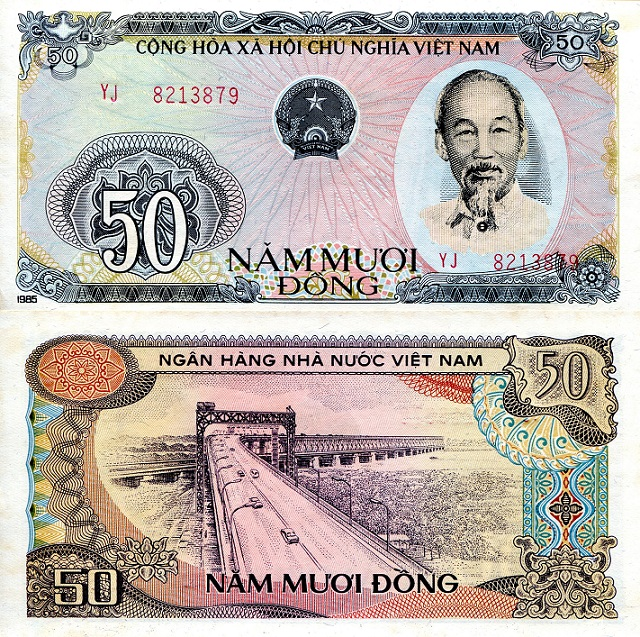 50 Dong  aUNC Banknote