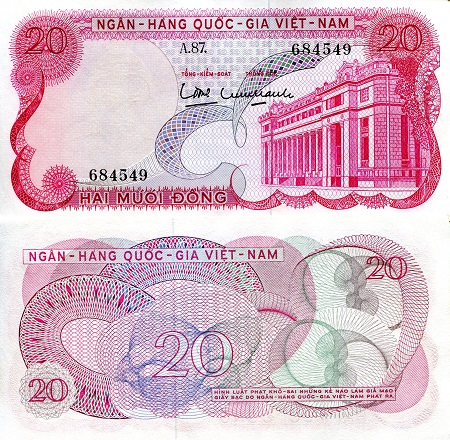 20 Dong  aUNC Banknote