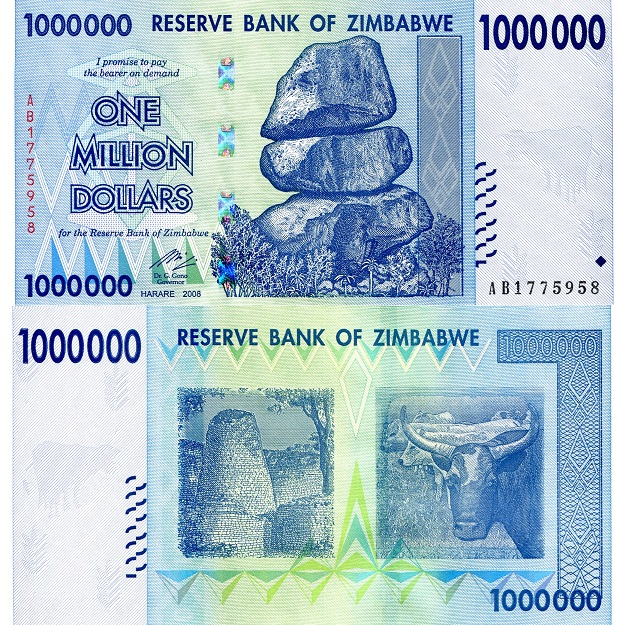 1,000,000 Dollars (1 Million)  UNC Banknote