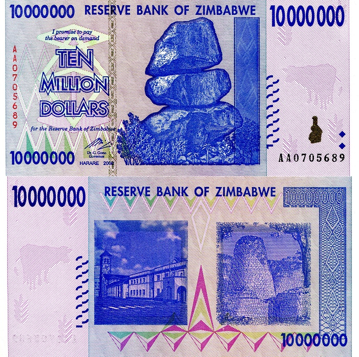 10,000,000 Dollars (10 Million)  UNC Banknote
